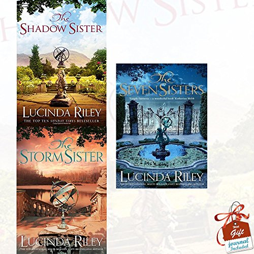 Seven Sisters Series 3 Books Bundle Collection With Gift Journal (The Shadow Sister, The Storm Sister, The Seven Sisters)