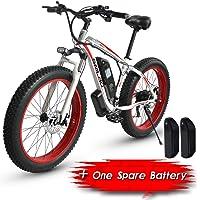 XXCY S02, Vélo Électrique, Vélo De Montagne Électrique De 26 '', 1000w 15ah,Deux Batteries
