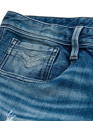 Replay Herren Jeanshose Anbass Blau