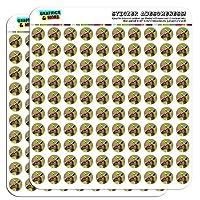 """Kangaroo 1.3cm (0.5"""") Scrapbooking Crafting Stickers"""
