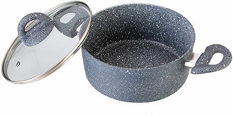 Wonderchef Granite Casserole with Lid Set, 20cm, Single Pieces