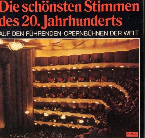 Die schönsten Stimmen des 20. Jahrhunderts auf führenden Opernbühnen der Welt 6 Vinyl LP BOX DasBeste