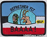 RAF JEFTS vuelo de actualización curso de formación Royal fuerza aérea parche escudo bordado insignia