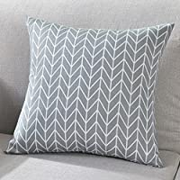 Indexp Geometric Printing Cushion Cover, Exchange Pattern Mod Home Decor Collection Sofa Throw Pillowcase Gift (Style A, 45x45cm)