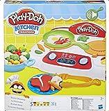 Offizielles PlayDoh Knete Küche Creations Sizzlin Herd * Neu *