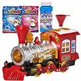 Prextex Bubble Bump 'n' Go Train with Lights Sounds and Action Includes 5