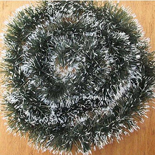 10x Garland Ribbon Christmas Decoration String (6 Feet Long)