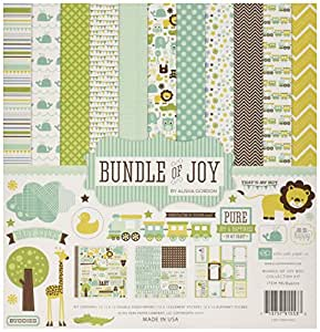 Echo Park papier papier Echo Park Collection Kit de 30,5 cm x 30,5 cm, Bundle de Joy Boy