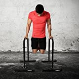 Powrx Dip Barren (Paar) | Push Up Stand Bar | Dip Station | Fitness Rack | Core Trainer
