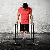 Powrx Dip Barren (Paar) | Push Up Stand Bar | Dip Station | Fitness Rack | Core Trainer