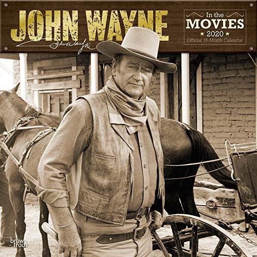 John Wayne in the Movies 2020 - 16-Monatskalender: Original BrownTrout-Kalender [Mehrsprachig] [Kalender] (Wall-Kalender) (Autobiographie Wayne John)