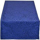 Vestio 3160-13-4515 camino Hojas, 45 x 150 cm, azul real