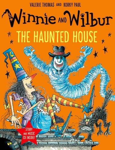 Winnie and Wilbur: The Haunted House with audio CD