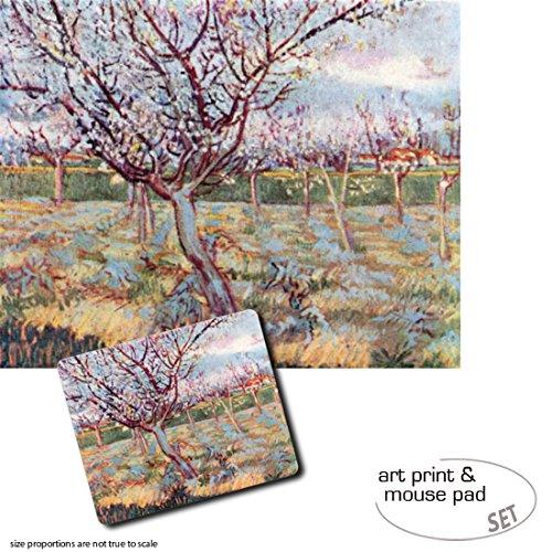 set-regalo-1-pster-impresin-artstica-50x40-cm-1-alfombrilla-para-ratn-23x19-cm-vincent-van-gogh-flor