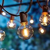 Catene luminose Esterno,[LED Versione] OxyLED G40 9metri 25+1 lampadine luci all'aperto Della Corda del Giardino del…