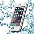 Aceguarder Waterproof Case Waterproof Snowproof Shockproof Dirtproof For Iphone 6 /Iphone 6 Plus (Iphone 6 Plus, White)