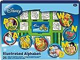 Noris 606311936 - Disney26er Stempel Set, Alphabet, 26 Stempel