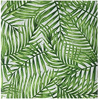 Abbott Collection Tropical Leaves Napkins. 20 Pack