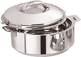 Kuber Industries™ Casserole/HotPot,chapati box/chapati container/hot case in Stainless Steel 1800 ML (CAS15K14)