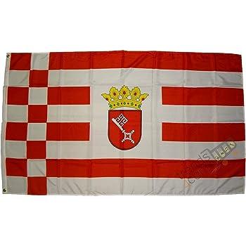 Flagge Fahne Bremen 1899 Fan Hissflagge 90 x 150 cm