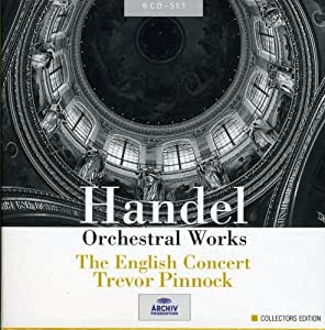 Handel: Orchestral Works (DG Collectors Edition)
