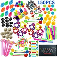 Amy & Benton Party Bag Filler Toys,150PCS Birthday Party Favours for Kids Lucky Dip Prizes,Loot Bag Fillers for Pinata Gifts