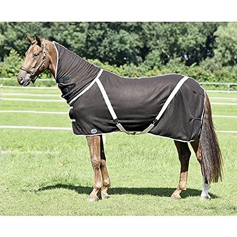 Busse All-Overcover-Cross Couverture de cheval séchante, coffee