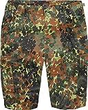 normani US Army Ranger Shorts BDU Cargo Kurze Hose in Verschiedenen Farben Farbe Flecktarn Größe S