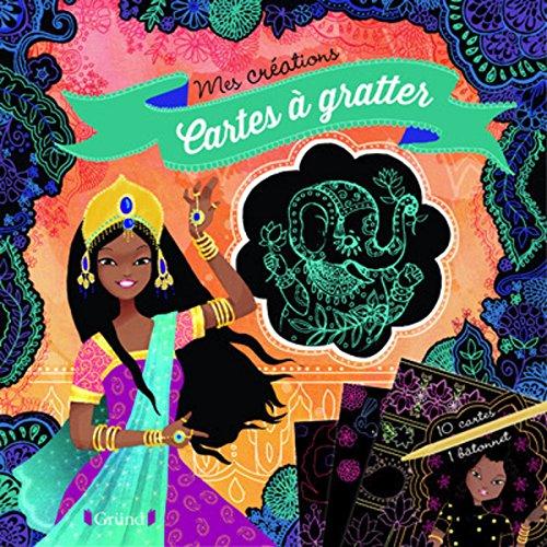 Pochette cartes à gratter ( princesses) par Anne CRESCI