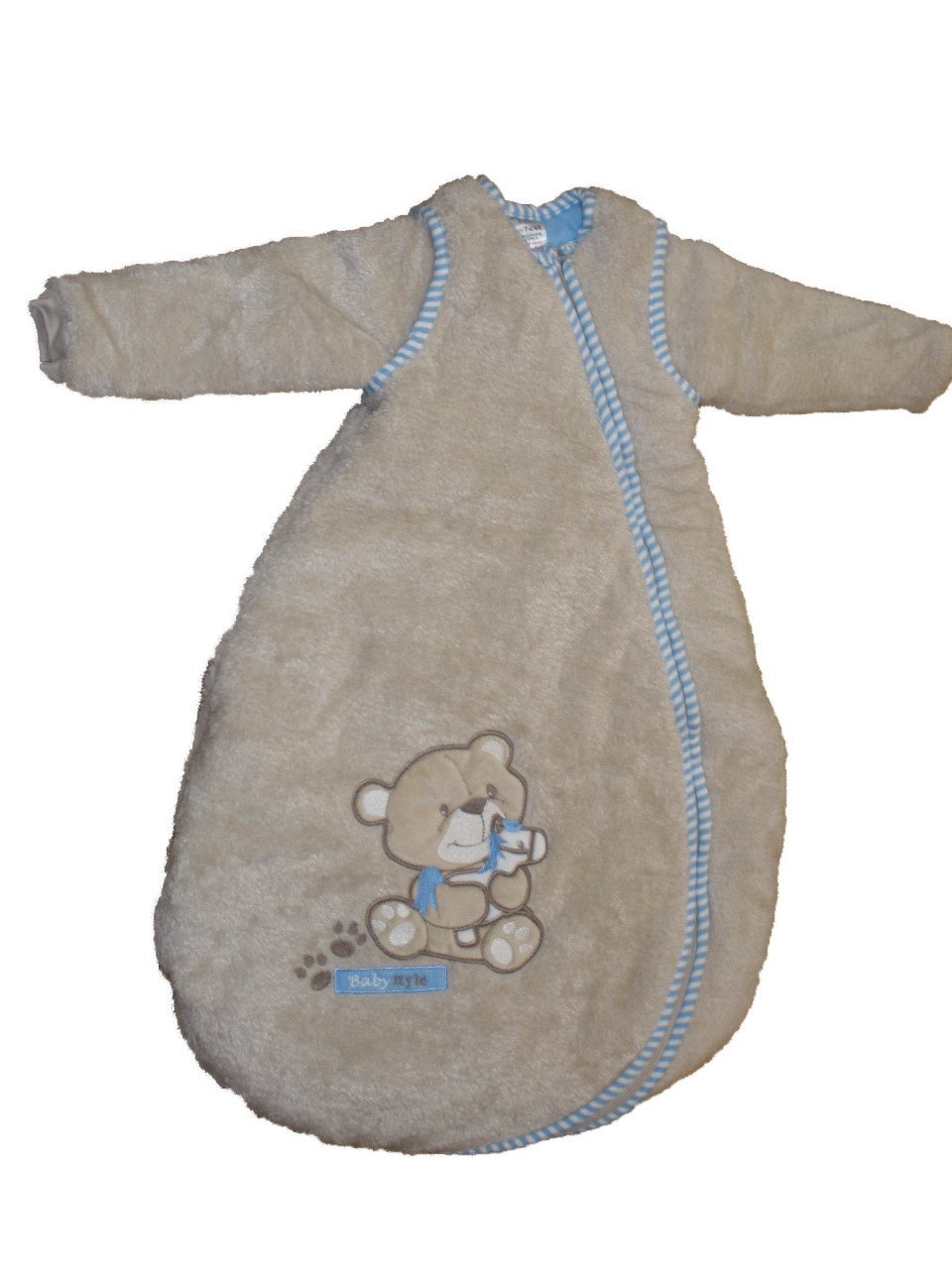 Jacky Baby ragazzo Serie Bear Jeans pagliaccetto Bodies Set sacchi nanna Schlafsack mit abnehmbaren