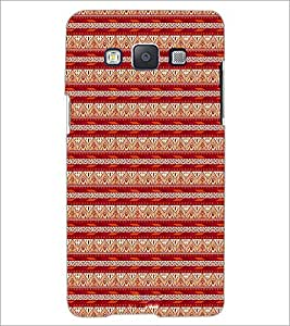 PrintDhaba Tribal pattern D-1984 Back Case Cover for SAMSUNG GALAXY A5 (Multi-Coloured)