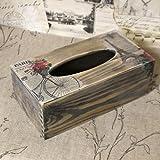 Vintage Taschentücherbox 25x13x9cm Kosmetiktücherbox Hygienetücherbox Handarbeit Modell 2