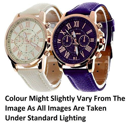 Geneva Platinum Combo Multi-Colour Women's Timepiece - GP-286