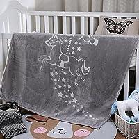 i-baby suave bebé niñas niños acogedor manta de visón