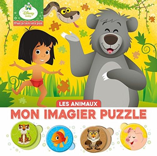 Disney Baby, mon imagier puzzle les animaux