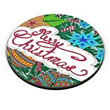PosterGuy Merry Christmas Merry Christmas, Christmas, Xmas, Santa, Jingle Bells Fridge Magnet