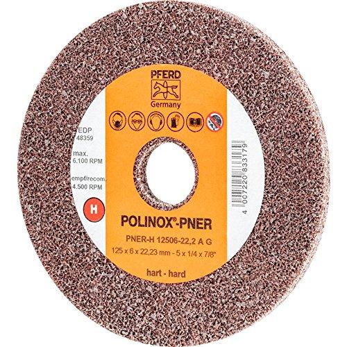 Polinox Kompaktschleifrad PNER - für Winkelschleifer und Kehlnahtschleifer - Ø125mm, b: 6mm, RPM: 6.100