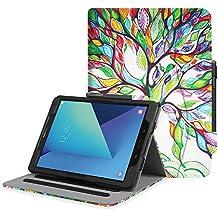 """Fintie Samsung Galaxy Tab S3 9.7 Funda, [Multi-Ángulo de Visualización] Slim Stand Case Plegable Smart Cover con Auto-Sueño / Estela para Samsung Galaxy Tab S3 9.7"""" Tablet, Love Tree"""