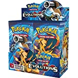 """Pokemon XY12 """"Evolutions"""" Booster Pack: 10 Additional Cards for Pokemon Trading Card Game (Random, English Language)"""