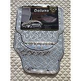Seat Toledo Alfombras de coche (Plata Metálico Placa PVC Caucho RM 700N