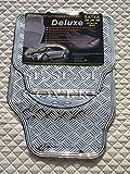 Peugeot 108Tapis de voiture Argent plaque métallique en caoutchouc PVC RM 700N