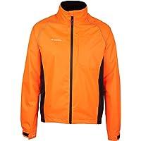 Mountain Warehouse Adrenaline Mens Waterproof Cycling Jacket - Reflective Mens Coat, Breathable Unisex Rain Coat - for…