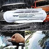 Sedeta® Outils d'essuie-glace de véhicule Traitement de fenêtre en verre de l'eau repoussant la pluie répulsent applicateur brusher duster pour la vie quotidienne
