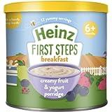 Heinz Baby Tub and Scoop Fruit and Yogurt Porridge, 240 g