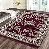 Give a traditional touch to your home flooring with these beautifully designed Indian ethnic carpets,rugs ,durries. Made of superior quality materials(chennille and cotton), they are highly durable and sport an attractive pattern that are is to fetch...