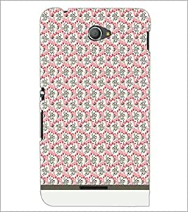 PrintDhaba Skull pattern D-1952 Back Case Cover for SONY XPERIA E4 (Multi-Coloured)