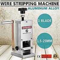 Autovictoria Máquina Pelacables Manual Cable Stripping Machine Φ1.5mm ~ Φ25m m Máquina de Desmontaje del Alambre de la Lámina Herramienta Manual de la Manivela de la Máquina Manual que Arranca Reciclar