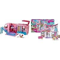 Barbie Fbr34 Camper Dei Sogni Per Bambole Con Piscina, Bagno, Cucina E Tanti Accessori, Giocattolo 3+ & Casa Di Malibu…