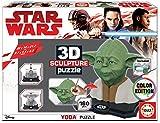 Educa Borrás Star Wars: 3d Sculpture Puzzle Yoda, 17801