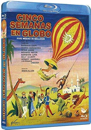 Cinco Semanas en Globo [Blu-ray] 61dno9S1SRL